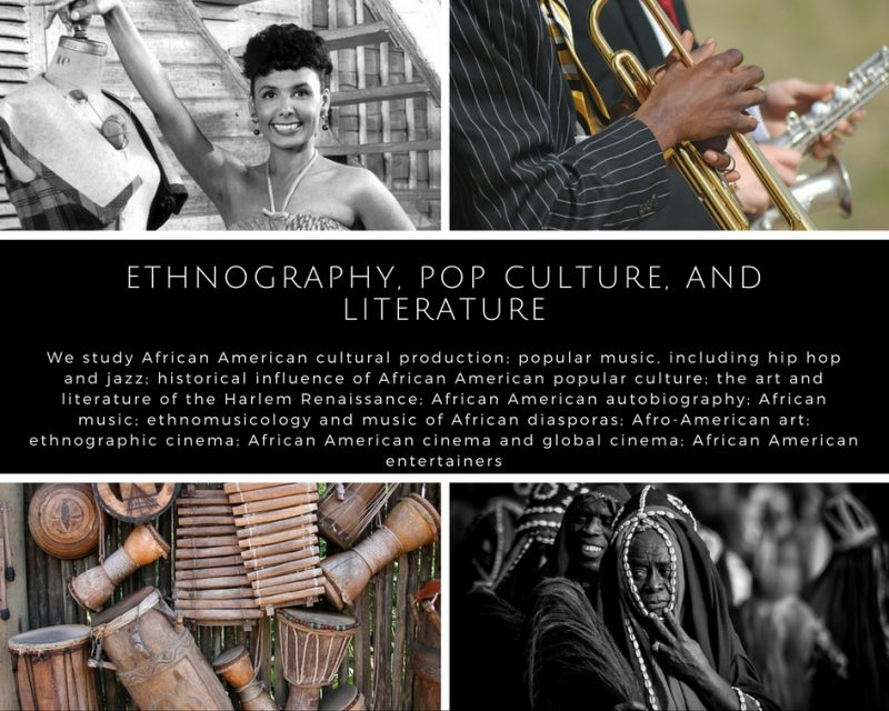 Ethnography, Pop Culture, and Literature